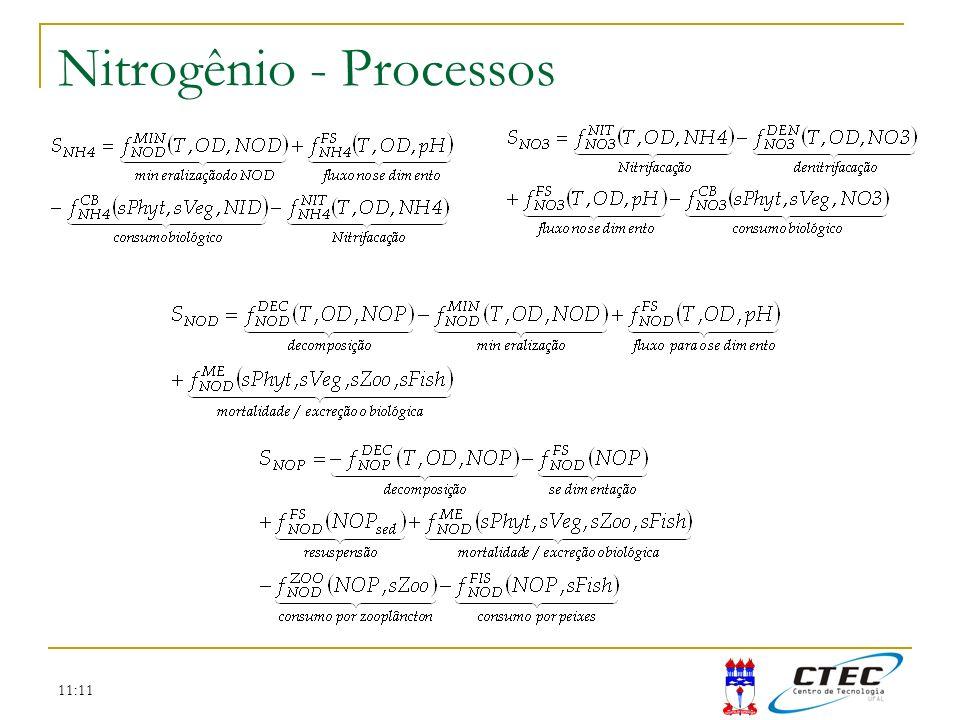 11:11 Nitrogênio - Processos