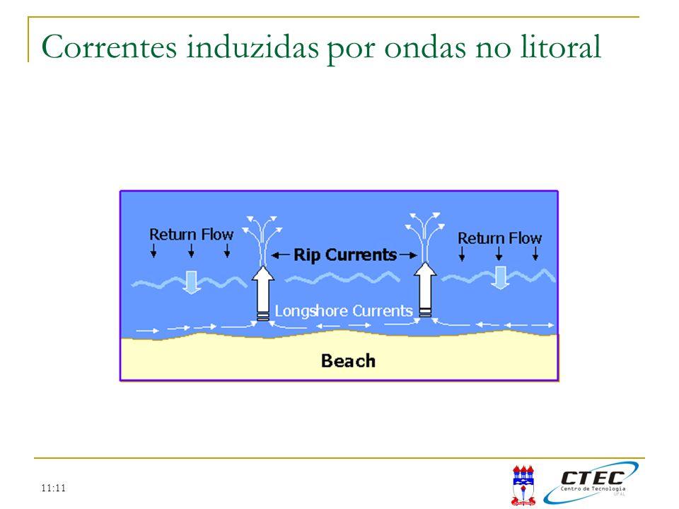 11:11 Correntes induzidas por ondas no litoral