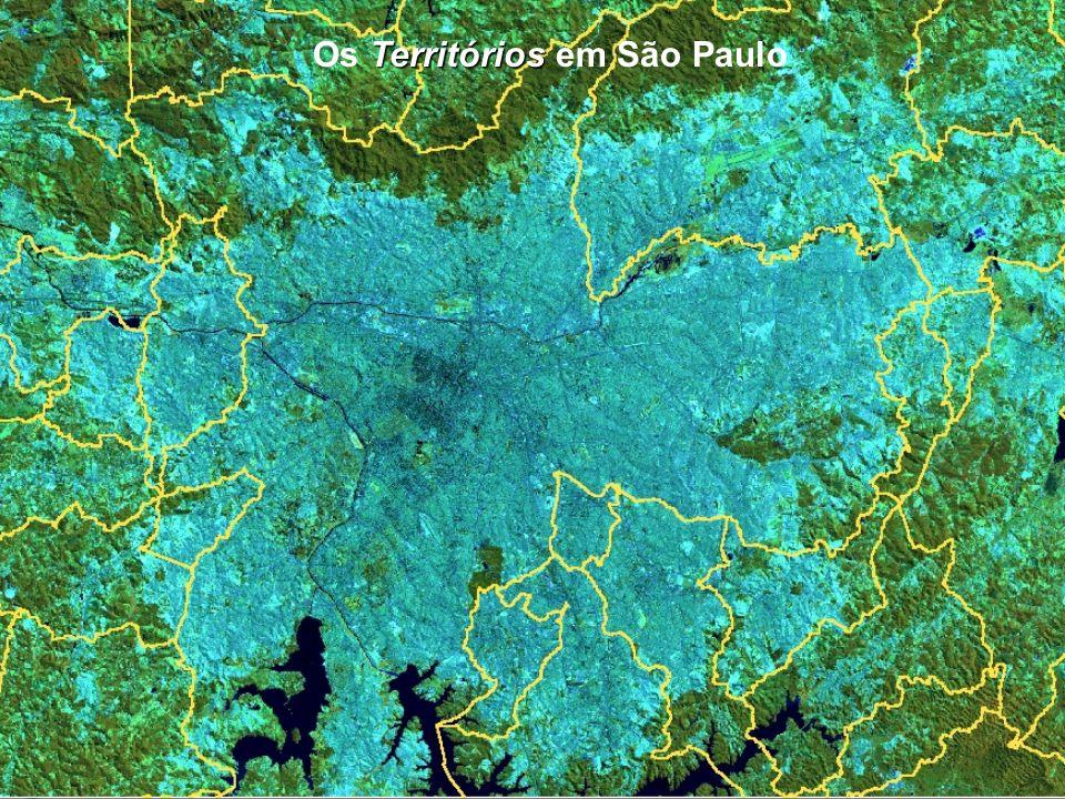 DPI/INPE Territórios Os Territórios em São Paulo