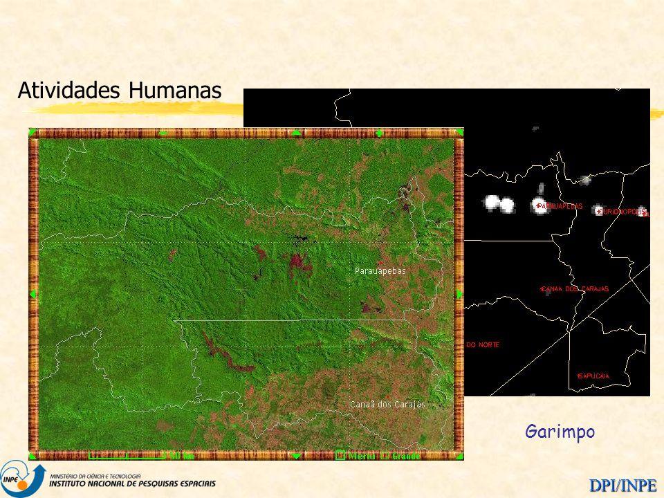 DPI/INPE Atividades Humanas Garimpo