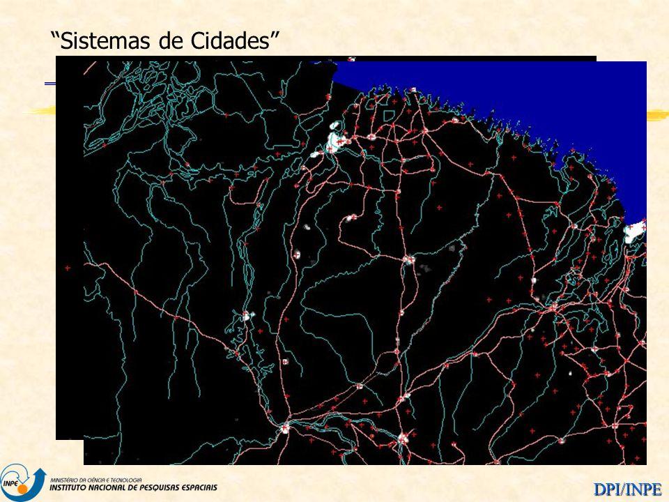 DPI/INPE Sistemas de Cidades