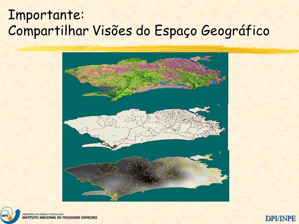 DPI/INPE Importante: Compartilhar Visões do Espaço Geográfico