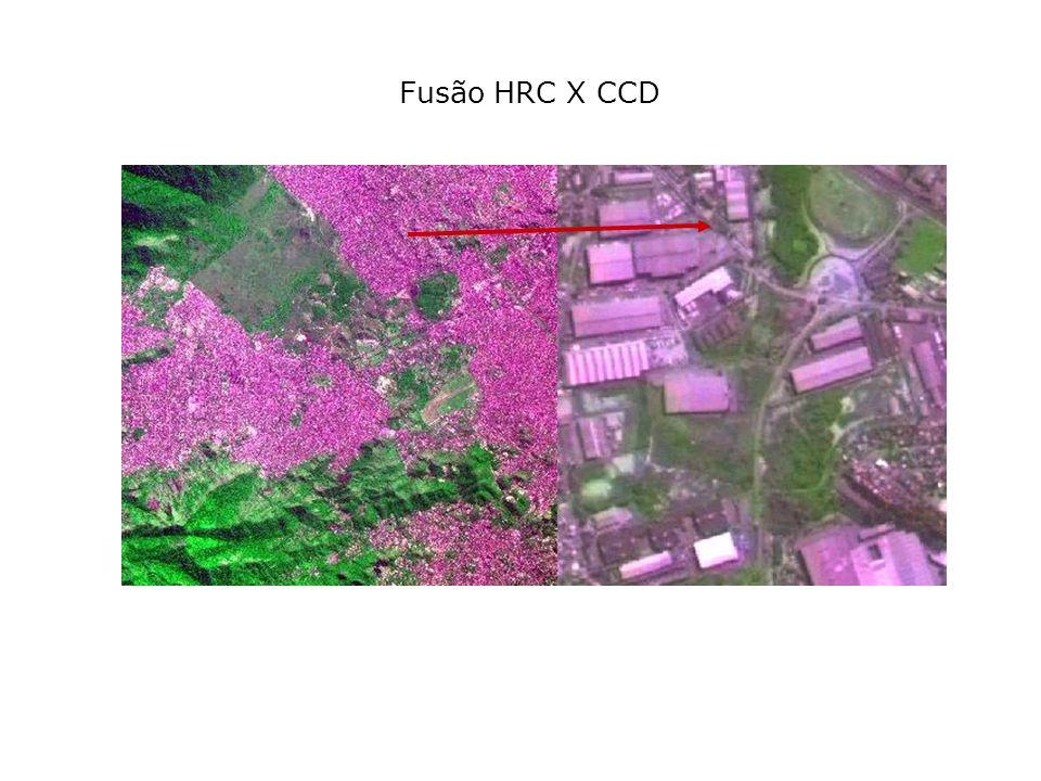 Fusão HRC X CCD