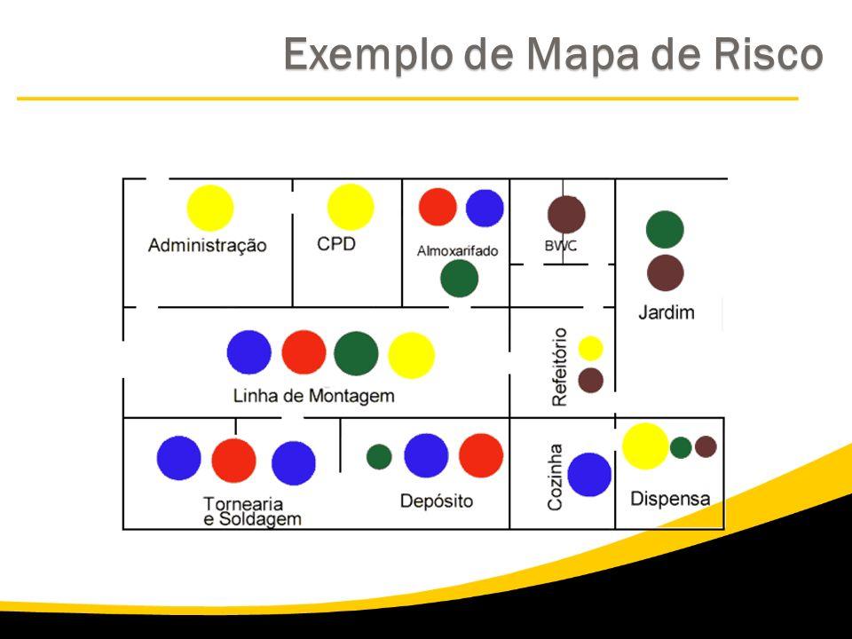 Exemplo de Mapa de Risco Exemplo de Mapa de Risco