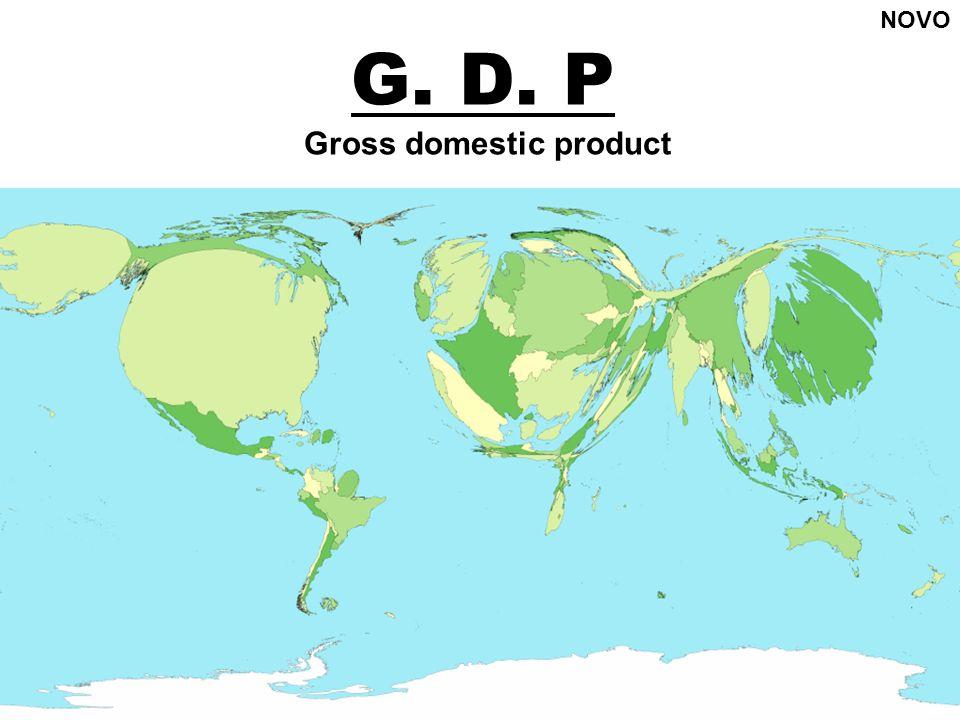 G. D. P Gross domestic product NOVO