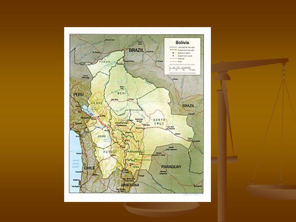 Bolívia Dividida em quatro regiões: Dividida em quatro regiões: - Altiplano – segue dois ramos da Cordilheira dos Andes, altitude média de 3000 metros- clima frio e seco, vive a maior parte da população – cerca de ¾ da população boliviana - Altiplano – segue dois ramos da Cordilheira dos Andes, altitude média de 3000 metros- clima frio e seco, vive a maior parte da população – cerca de ¾ da população boliviana - também onde estão localizadas as jazidas de estanho,cobre,prata,zinco e chumbo - também onde estão localizadas as jazidas de estanho,cobre,prata,zinco e chumbo - no altiplano está localizado o lago mais alto do mundo – o Titicaca – na divisa com o Peru – área com grande atividade agrária de subsistência - no altiplano está localizado o lago mais alto do mundo – o Titicaca – na divisa com o Peru – área com grande atividade agrária de subsistência