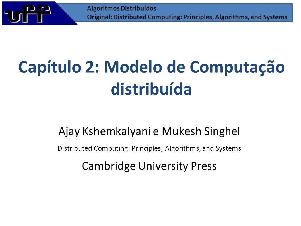 Programa Distribuído Um programa distribuído é composto de n processos assíncronos, p1, p2, p3,..., pn.