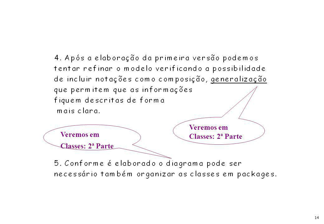 14 Veremos em Classes: 2ª Parte