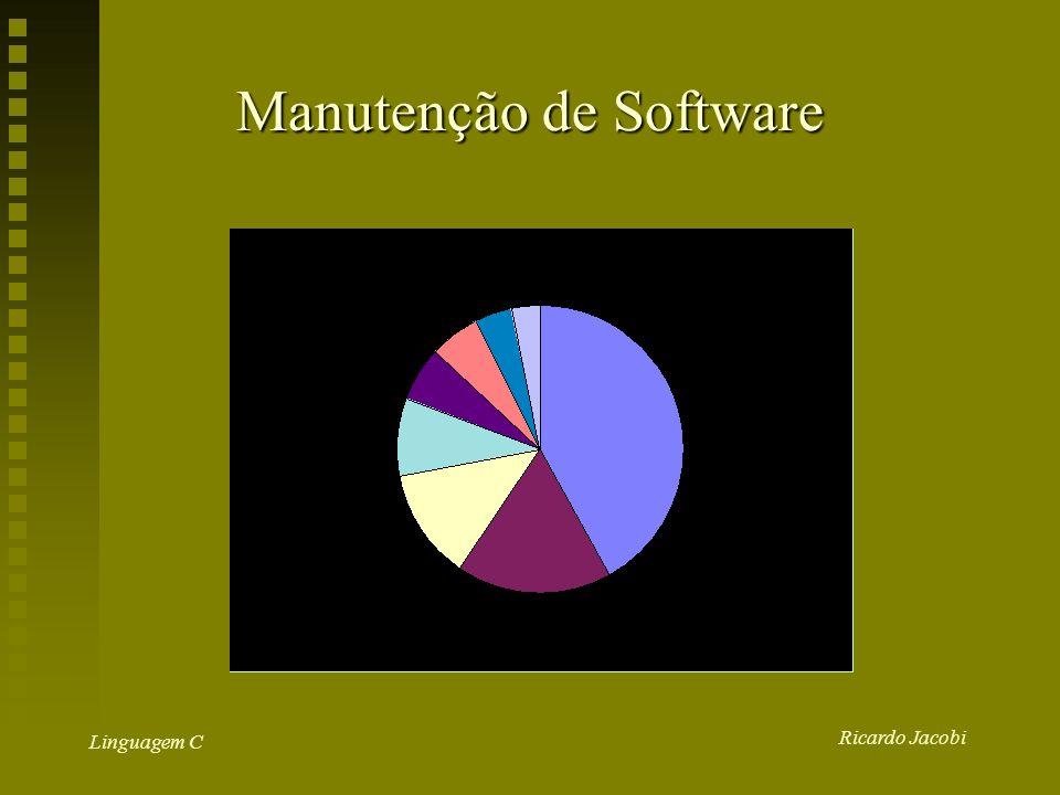 Ricardo Jacobi Linguagem C Manutenção de Software