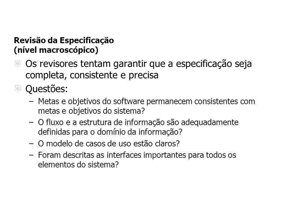Exemplos de Template adotado numa grande empresa de TI