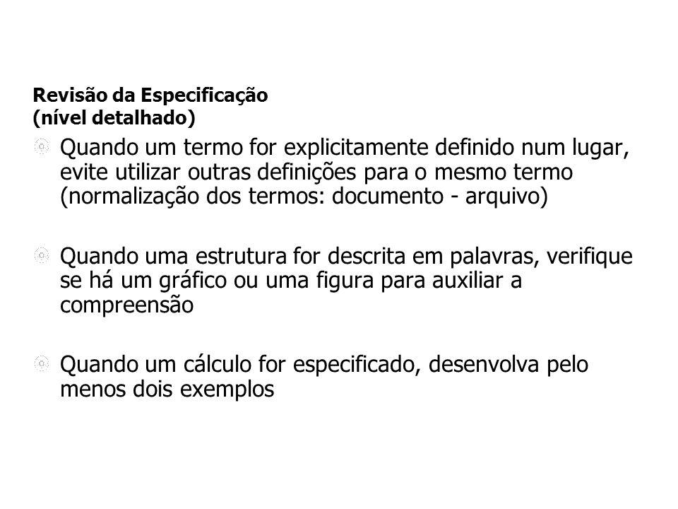 Documento de Regras de Negócio (RN): exemplo