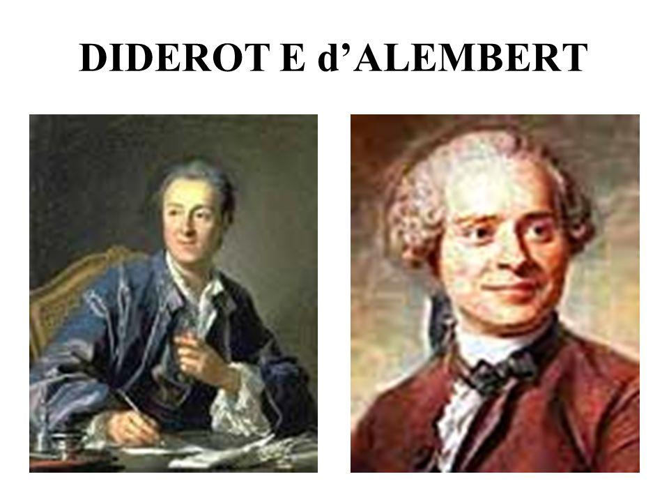 DIDEROT E dALEMBERT