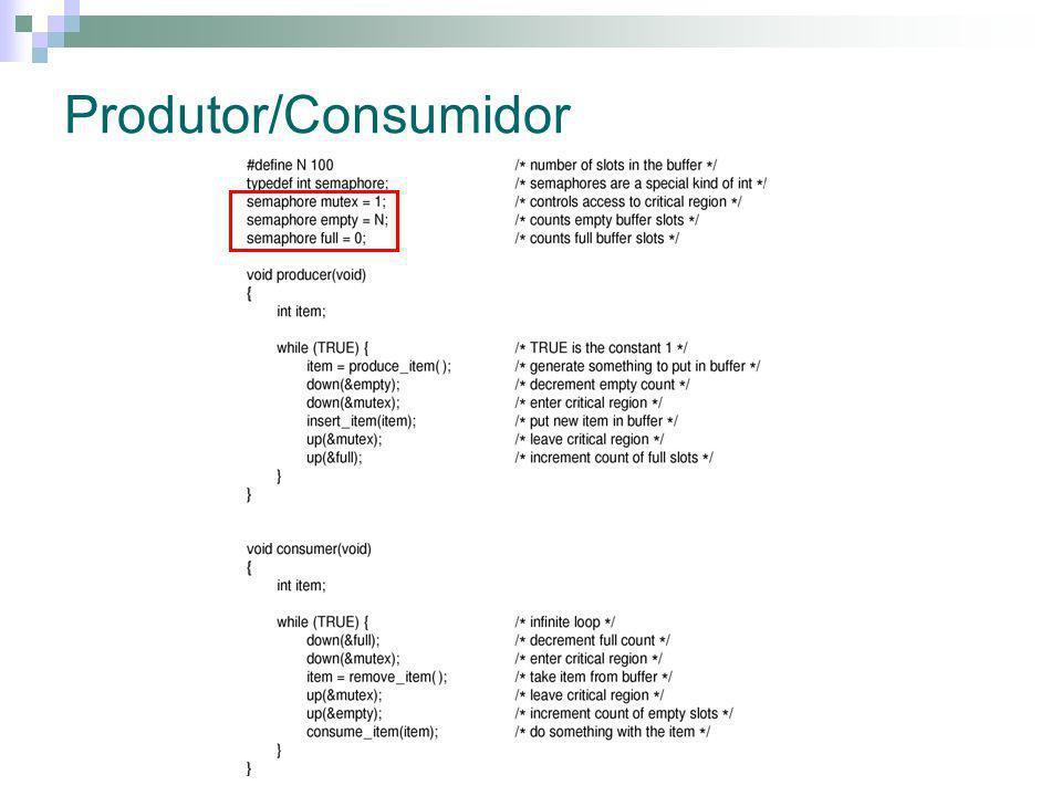 Produtor/Consumidor