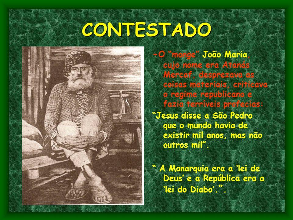 - A saga de Canudos foi narrada por Euclides da Cunha no livro Os Sertões.