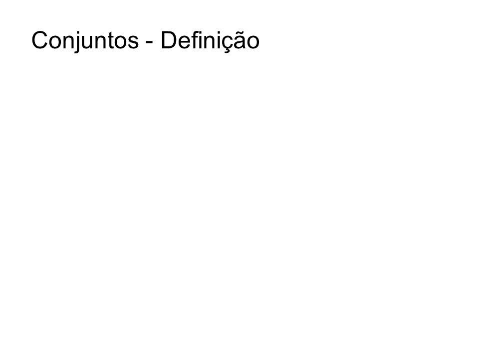 Conjuntos - Definição