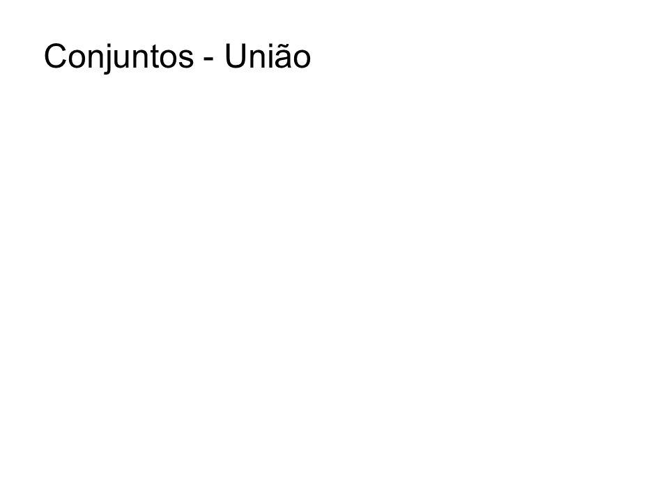 Conjuntos - União