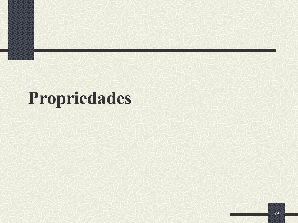 39 Propriedades