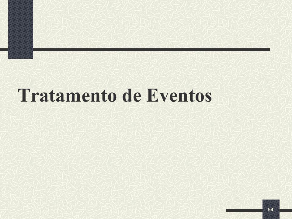 64 Tratamento de Eventos