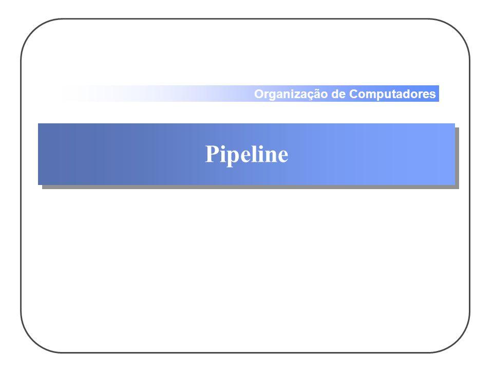 Organização de Computadores Pipeline