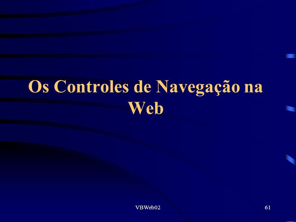 VBWeb0261 Os Controles de Navegação na Web