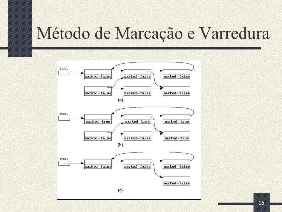 Método de Marcação e Varredura 16