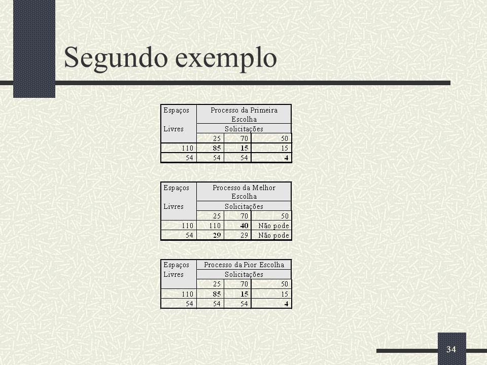 34 Segundo exemplo