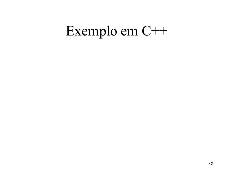 38 Exemplo em C++