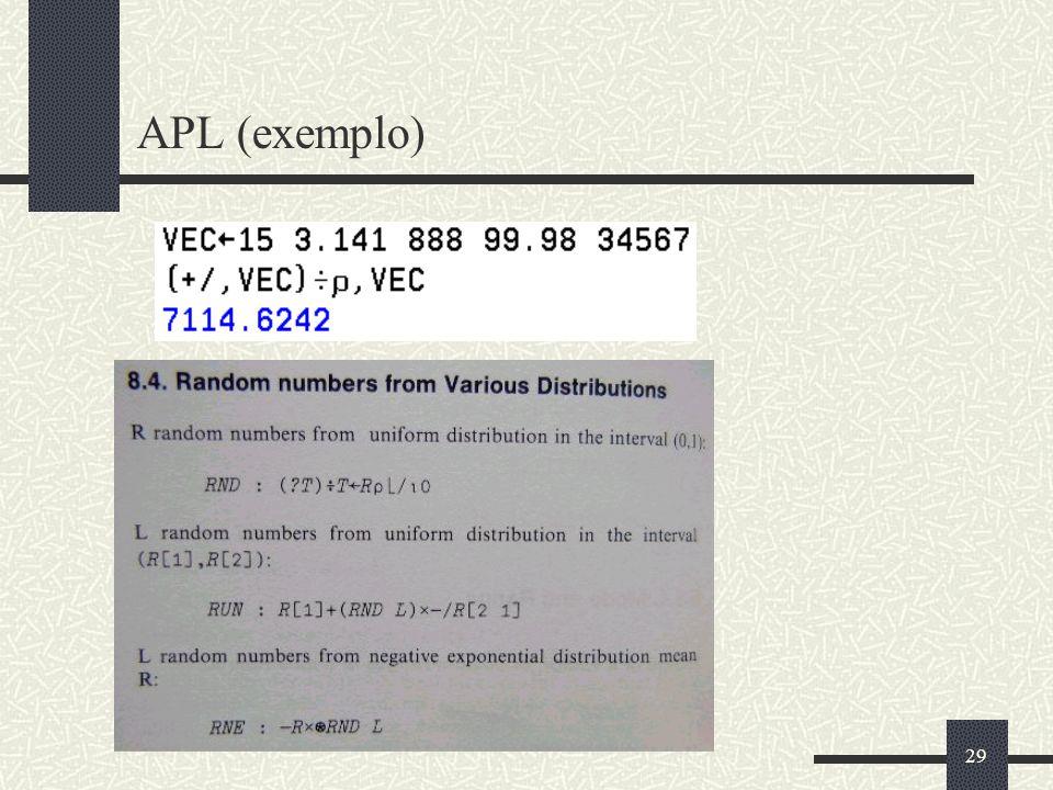 29 APL (exemplo)