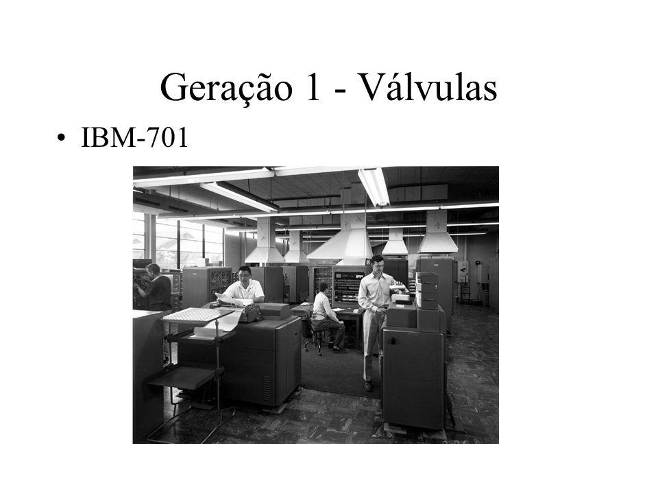 Geração 1 - Válvulas IBM-701