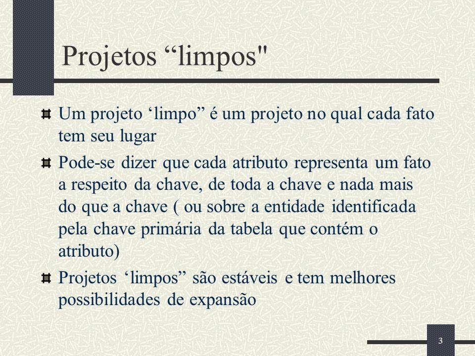 3 Projetos limpos