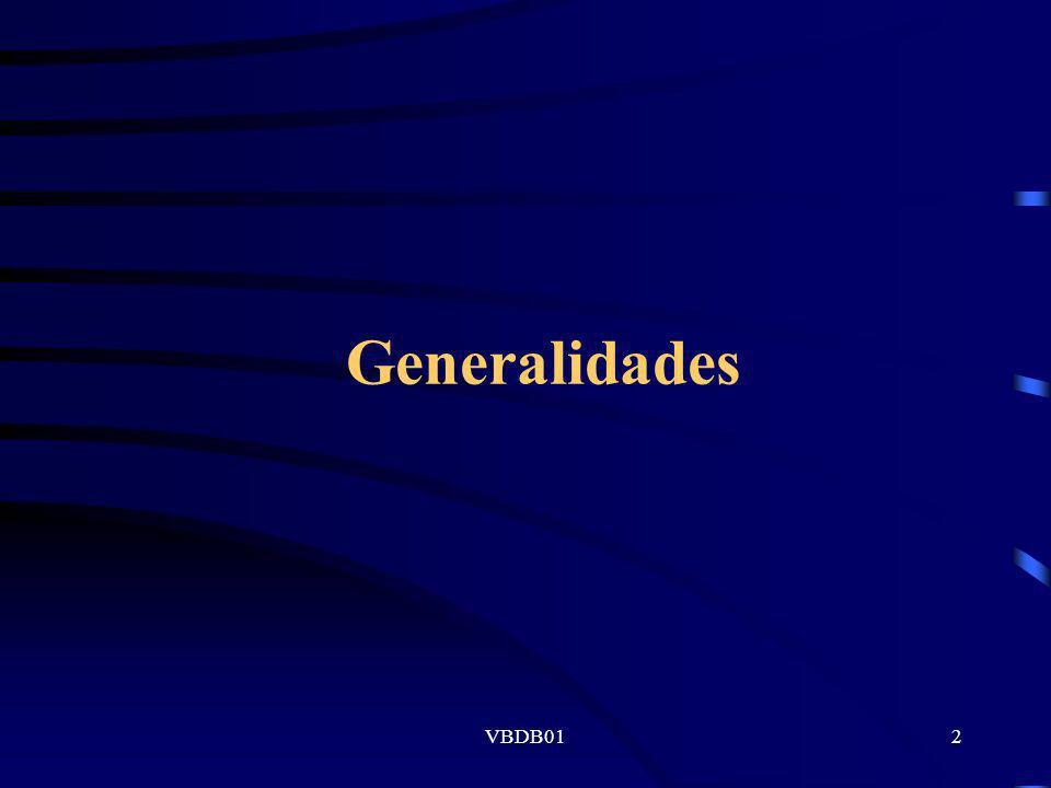 VBDB012 Generalidades
