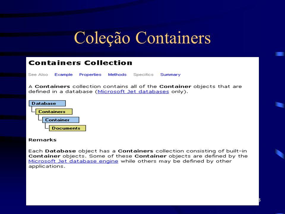 13 Coleção Containers