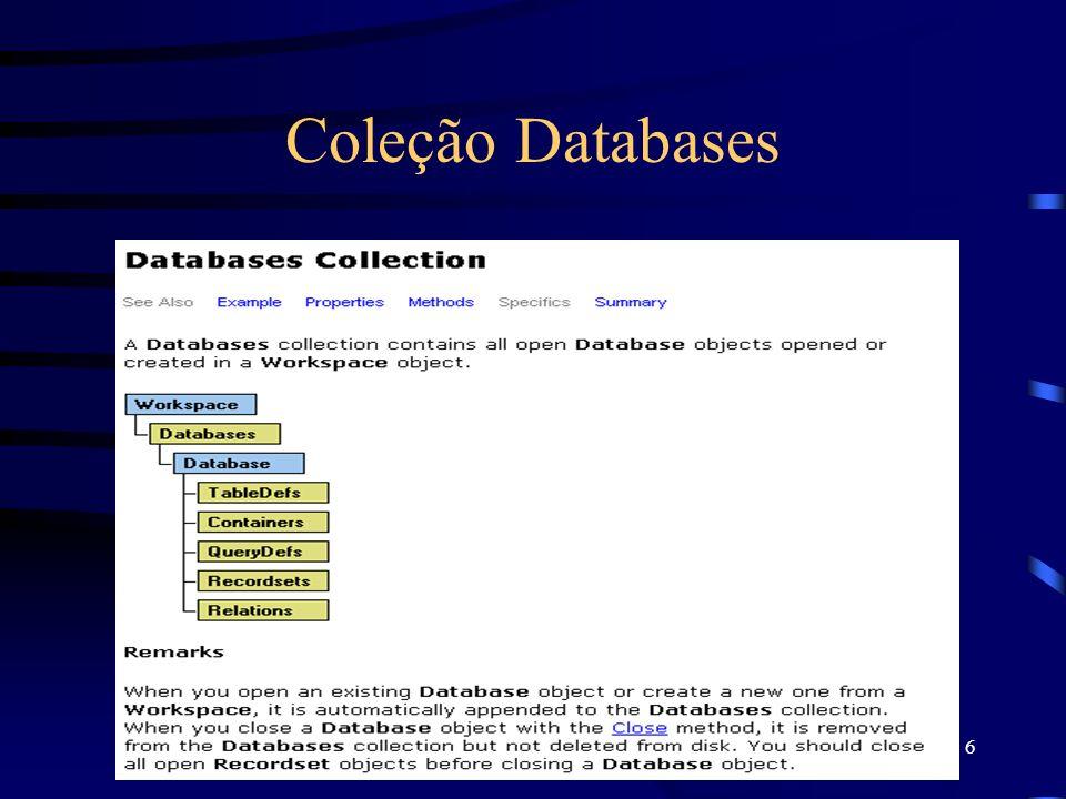 6 Coleção Databases