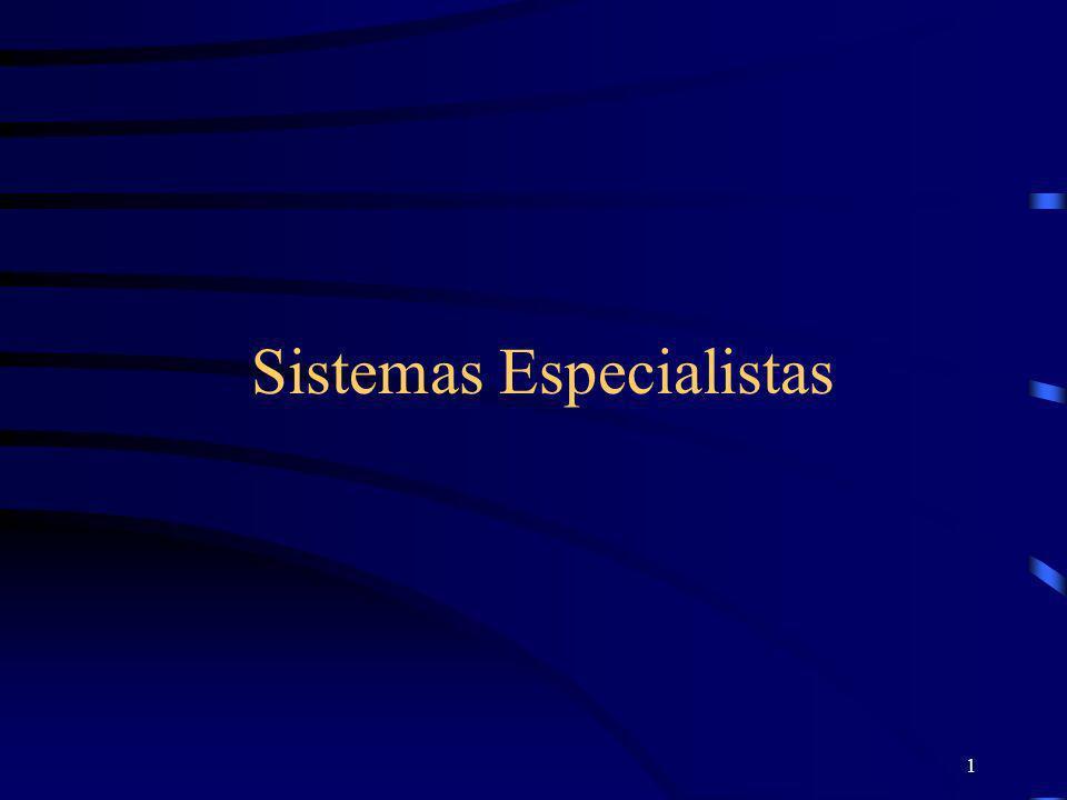 1 Sistemas Especialistas