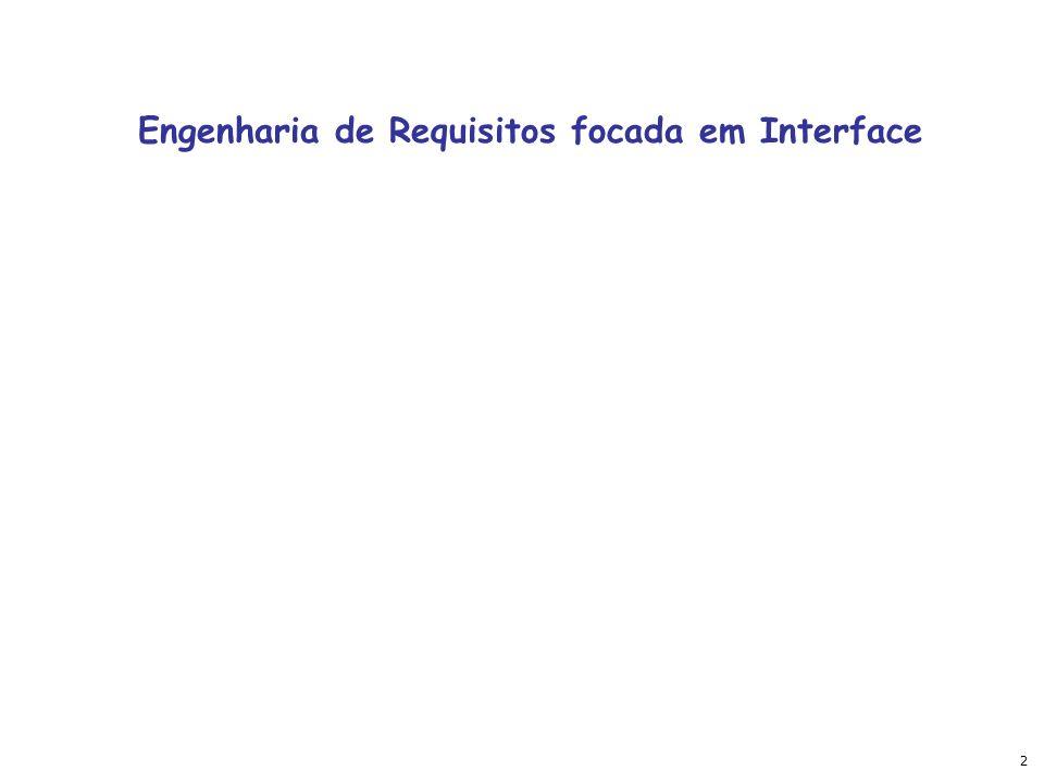 2 Engenharia de Requisitos focada em Interface