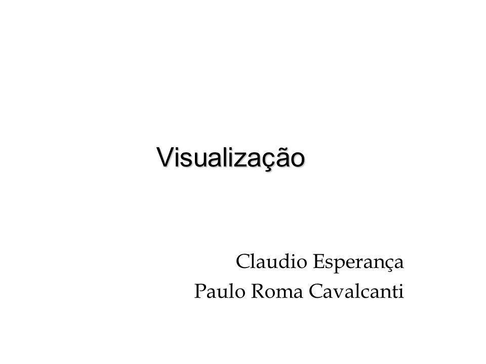 Visualização Claudio Esperança Paulo Roma Cavalcanti