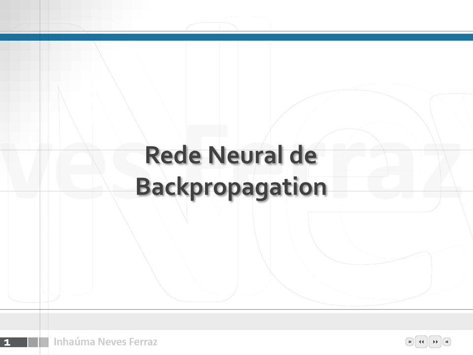 Rede Neural de Backpropagation 1