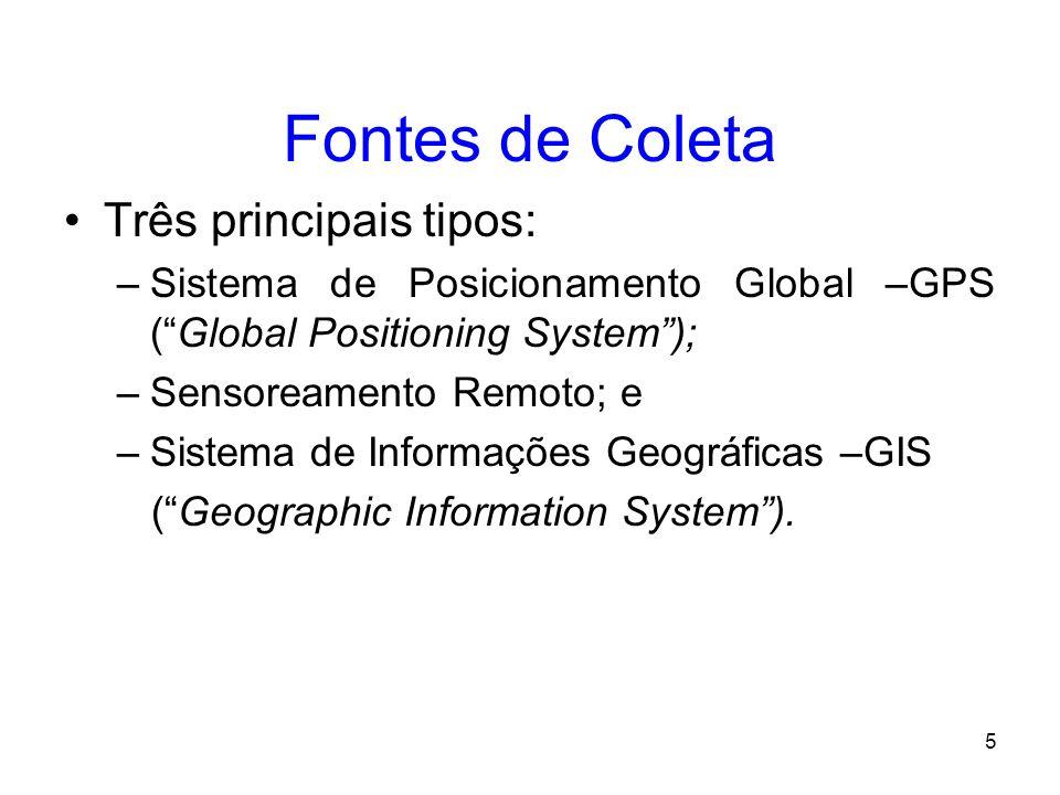 4 Informação Geográfica Informação sobre lugares da superfície terrestre; Conhecimento sobre onde está algo; Conhecimento sobre o que existe em determ