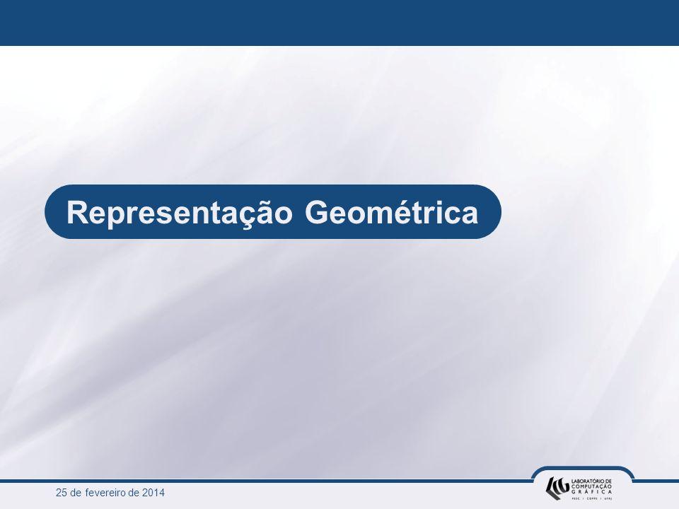 25 de fevereiro de 2014 Representação Geométrica