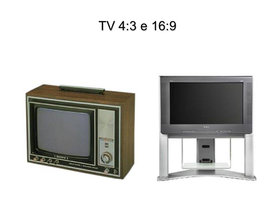 TV 4:3 e 16:9