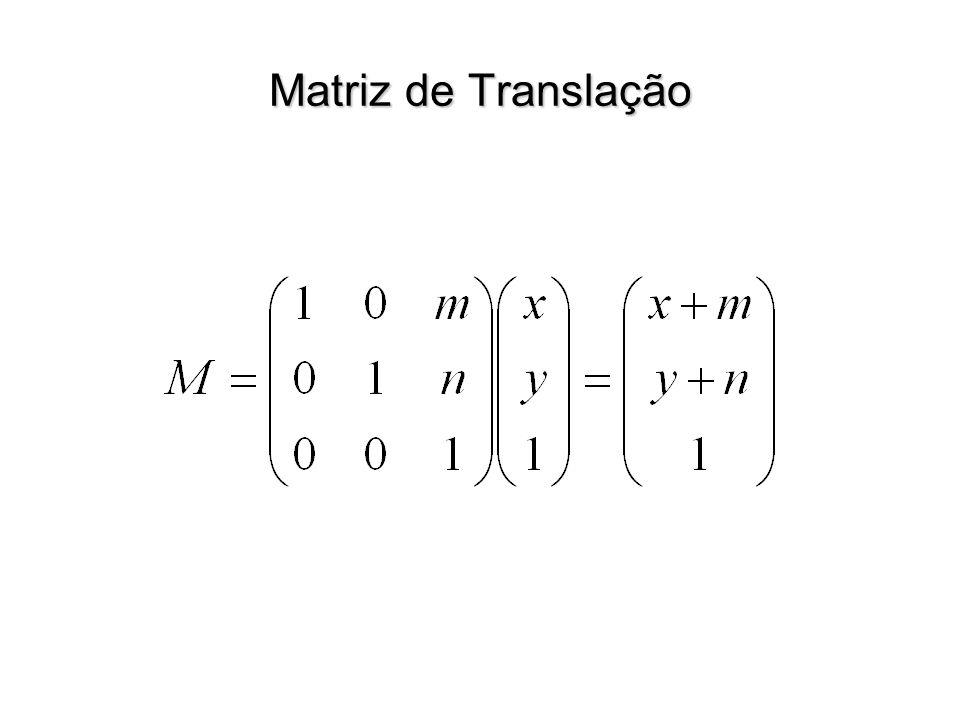 Matriz de Translação