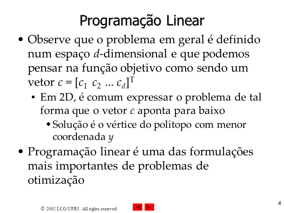 2002 LCG/UFRJ. All rights reserved.