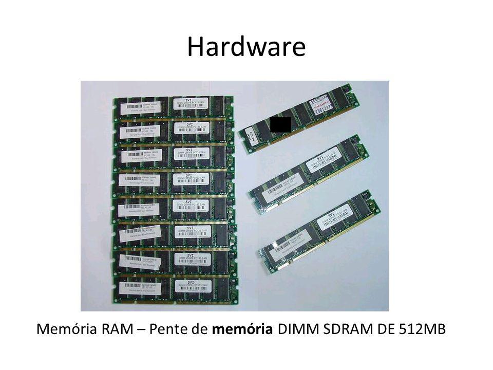 Hardware Memória RAM – Pente de memória DIMM SDRAM DE 512MB