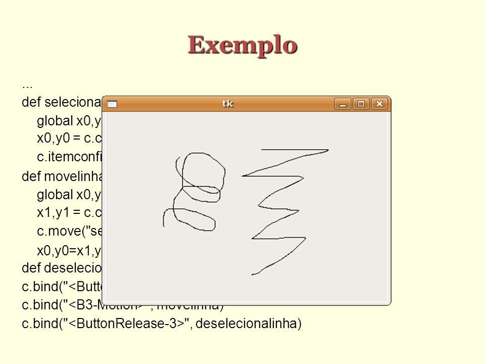 Exemplo...