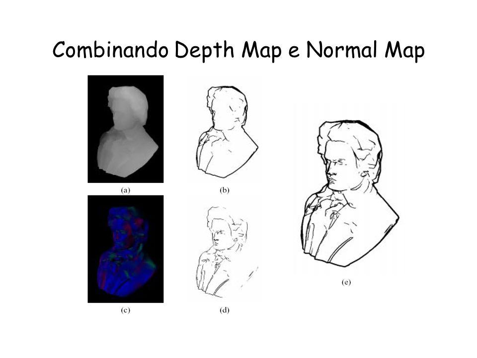 Combinando Depth Map e Normal Map
