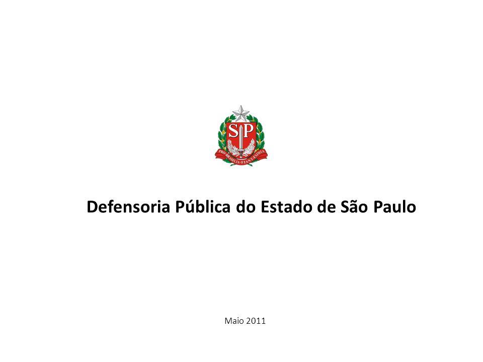 Defensoria Pública do Estado de São Paulo Maio 2011