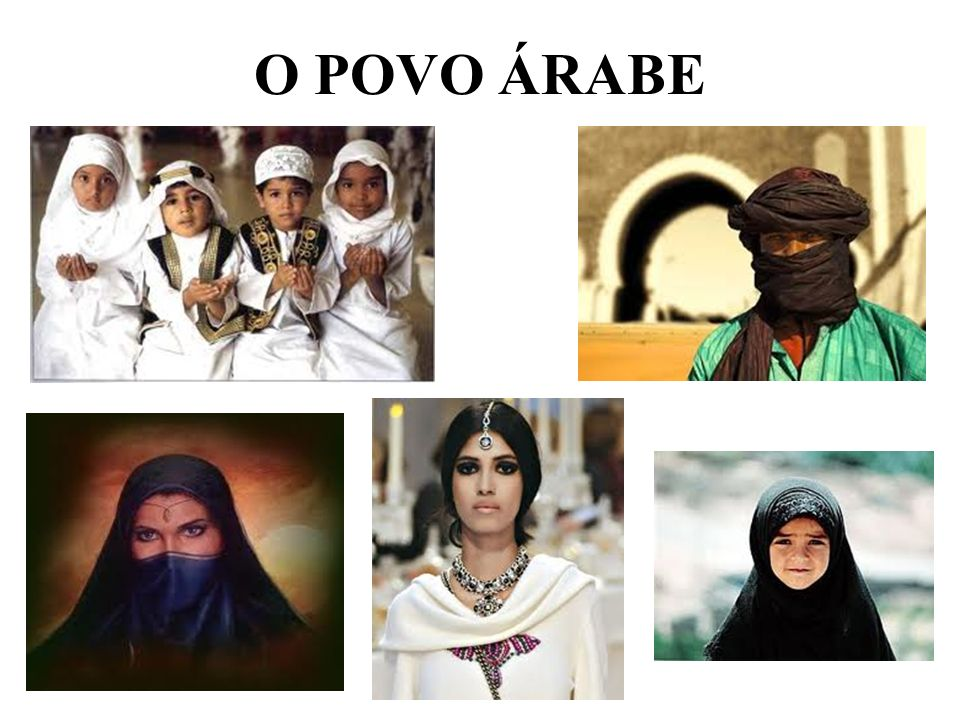 O POVO ÁRABE