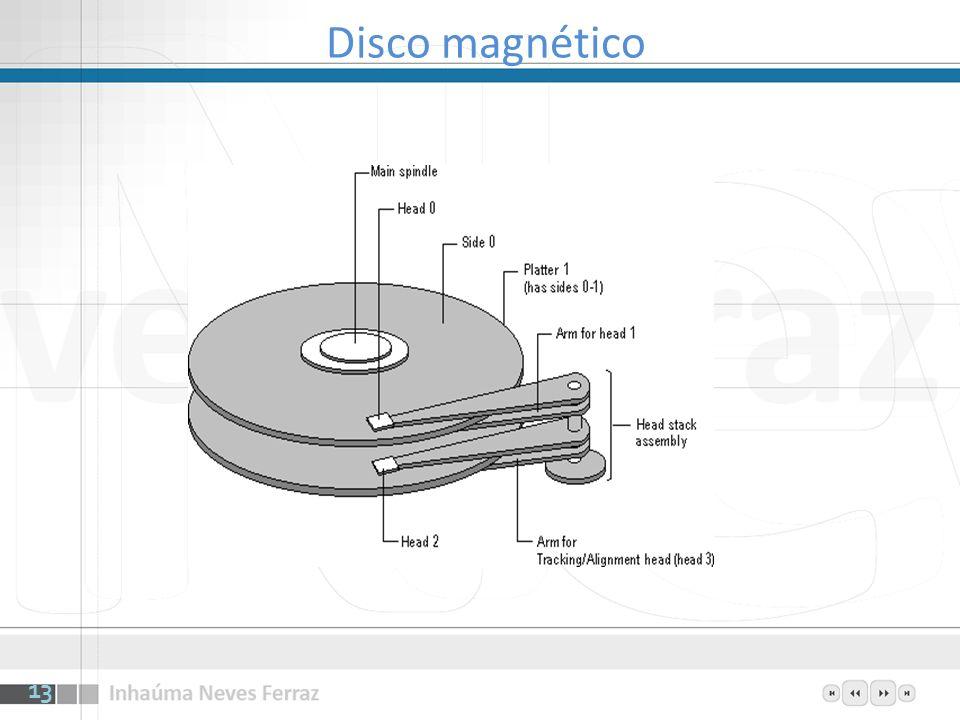 13 Disco magnético