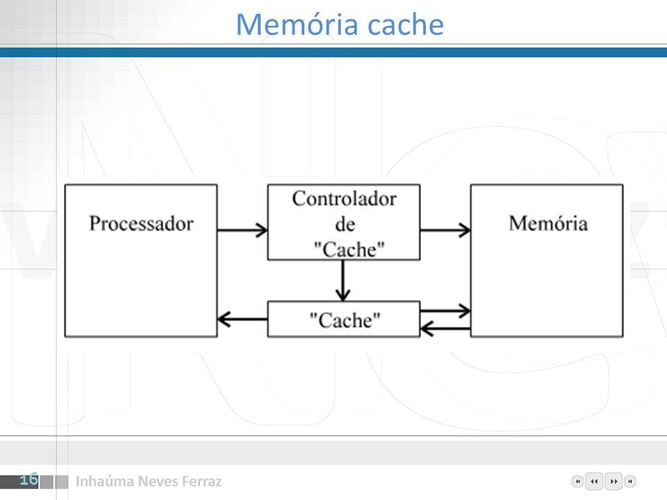 Memória cache 16