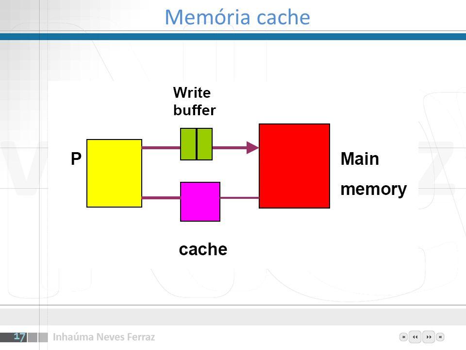 Memória cache 17